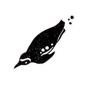 水の中で飛ぶ (ハ) Penguin