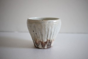 古谷浩一(古谷製陶所)|鉄散 新フリーカップ 小 (線彫)