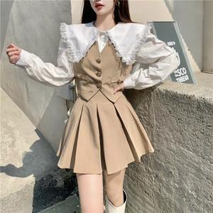 シャツ&スカートスーツ V00856
