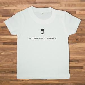 【ベビー】 GENTLEMAN Tシャツ/ホワイト【CWE-097BWH】