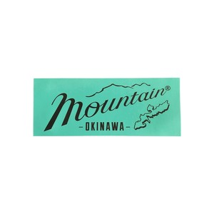 Mountain オリジナルステッカー 150✖️60 / ミント