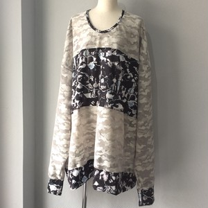 Camouflage pullover【FRANCOISE】