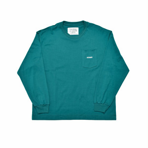EXTRALESS Extraless Logo Type L/S Tee Green EX19SS0004