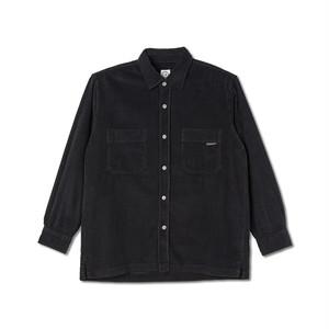 POLAR SKATE CO / CORD SHIRT -BLACK-