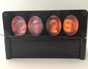 ニキシー管風4桁アクリル表示時計-ACRYLIXIE-CLOCK4