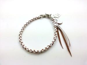 ロープS【革:白】