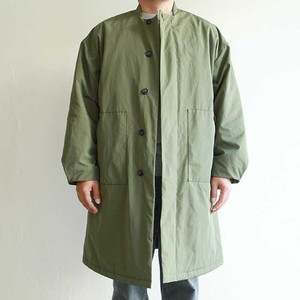 STILL BY HAND  【 mens 】 stand collar coat