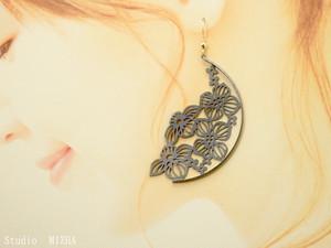紫陽花の耳飾り〜series影あそび〜