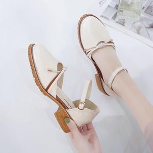【shoes】リボン付き合わせやすいファッションパンプス27430168