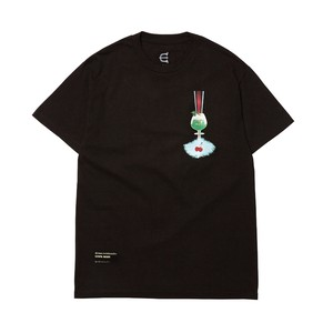 EVISEN CHERRY POP TEE BLACK L