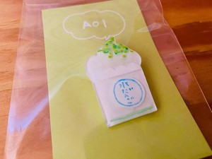 AOI・水だんごパフェブローチ【1個】※送料込み