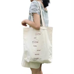 Printing Canvas Tote Bag Pouch Shoulder Bag Travel Shopping Bag Casual Handbag カジュアル ショルダーバッグ トートバッグ ハンドバッグ (HMS99-0771317)