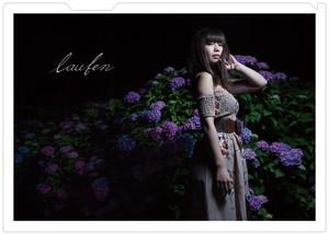 Cukaクリアファイル(紫陽花)