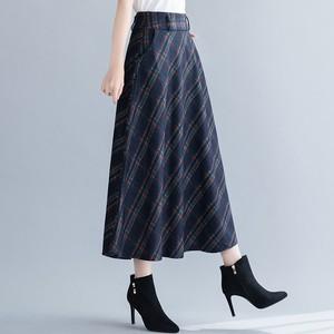 【ボトムス】チェック柄森ガールAラインスカート24446367