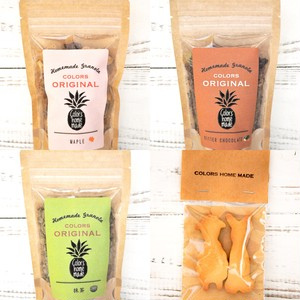 【無添加】 TRIAL SET ①( グラノーラ 50g×3個+米粉クッキー1袋)