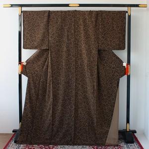 1274 トールサイズ◆木の葉柄小紋