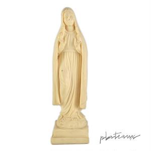 聖母マリア 樹脂製像 アイボリー