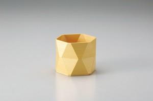 ダイヤ型 木製ボックス 中