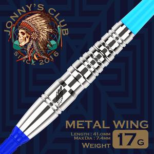 JONNNY'S CLUB ダーツバレル 【METAL WING】