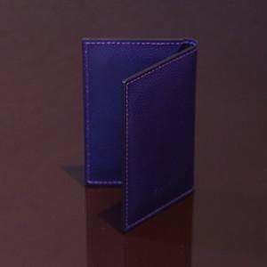 LIVERPOOL PURPLE / PINETTI DOUBLE BUISINESS CARD HOLDER CREAM(リバプール パープル / ピネッティ ダブルビジネスカードホルダー)
