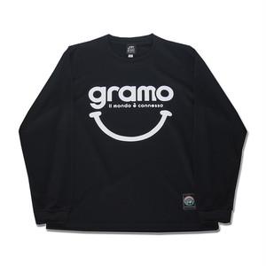 ロングプラクティスシャツ「nicotto-longtype」(ブラック/LP-010)