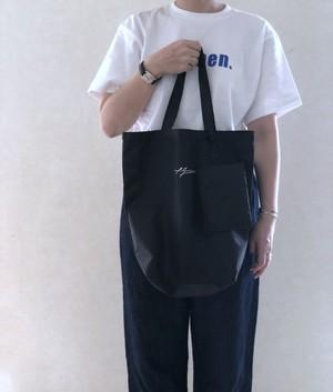 AN Linenオリジナルロゴポーチ付きbag