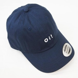 Oi! COTTON BASEBALL CAP NAVY