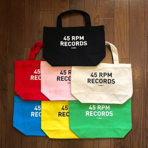 45RPM RECORDS TOTE BAG
