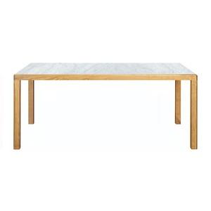 トリアンゴロ ダイニングテーブル オーク 天然大理石 1800