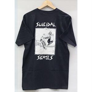 【SUICIDAL】POOL SKATER S/S TEE