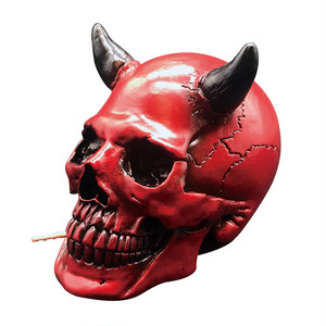 SKULLHEAD Tooth pick holder - Red devil