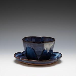 面取碗皿(青萩釉)
