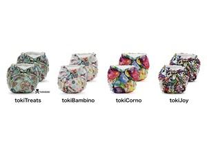 """Lil Joey Preemie & Newborn AIO Cloth Diaper(2pk)【designed by """"tokidoki""""】 kangacare カンガケア リルジョイ 布おむつ(2個セット)【tokidoki コラボデザイン】"""