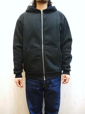 Los Angeles Apparel L/S Heavy Fleece Zip Up 14oz (ロサンゼルスアパレル 14オンス ヘヴィフリース フルジップパーカ) Made In USA