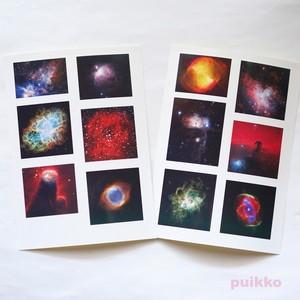 耐水シール(レジン用) 星雲