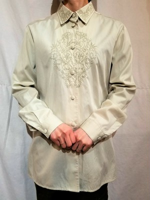 Embroidery shirt blouse [G-1117]