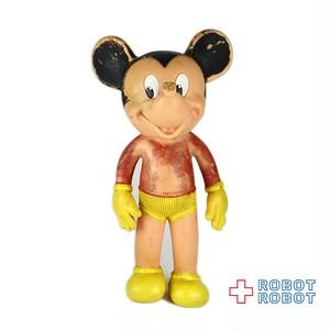 サンラバー ミッキーマウス ラバードール 8インチ ジャンク