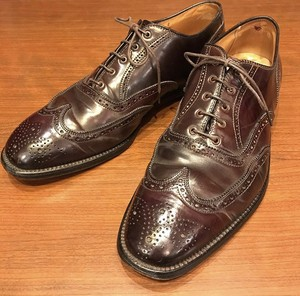 BROOKS BROTHERS×ALDEN FULL BROGUE CORDOVAN LEATHER SHOES