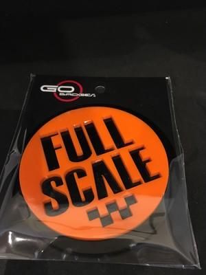 3Dゴーバッジ  4番 FULL SCALE ORANGE
