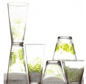 【限定セール61%OFF) Roost Fern & Frond Glassware - Set Of 6