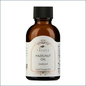 ヘーゼルナッツオイル(トルコ産)35g エレガントな甘さとビターな香ばしさ