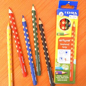 グルーヴ色鉛筆5色セット