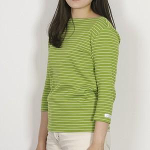 ボーダーTシャツの定番、 木糸ボーダーレディスバスクシャツ。