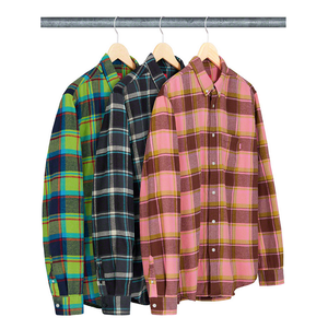 Supreme Plaid Flannel Shirt