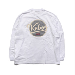 BB LOGO HEAVY WEIGHT L/S TEE【WHITE】