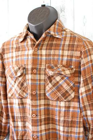 PENDLETON(ペンドルトン)フランネルシャツ Mサイズ RankC