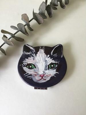 Nathalie Lete コンパクトミラー cat Souris