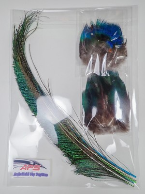 Peacock feather set / ピーコックフェザー セット