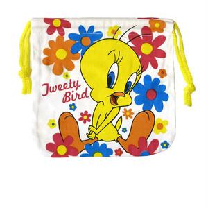 【即納】巾着袋 トゥイーティー Looney Tunes 14-0-419