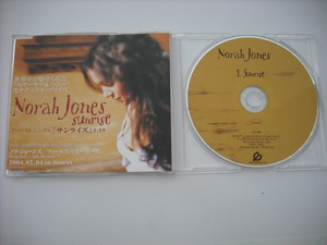 【CD single】NORAH JONES / SUNRISE (1track Promo)